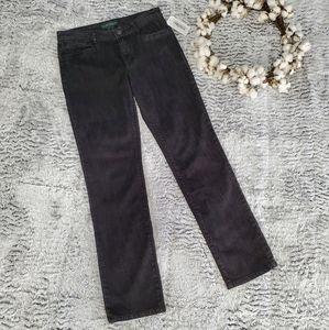 LAUREN RALPH LAUREN Jeans Co Black Wash Reg. Jean